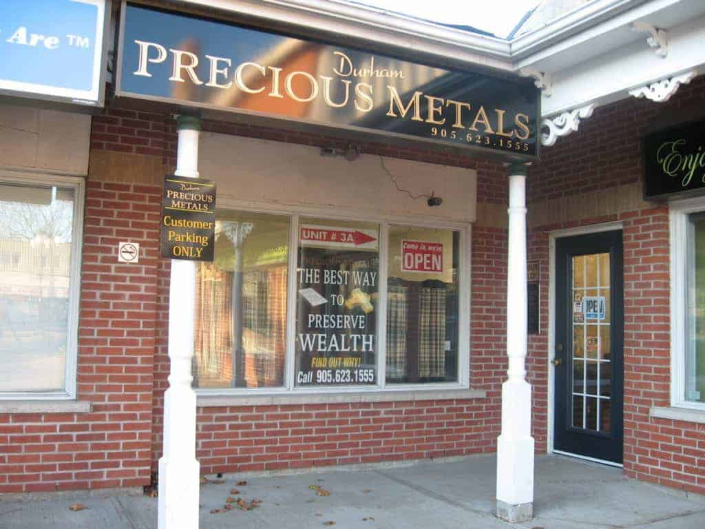 Durham Precious Metals - Outside Shot