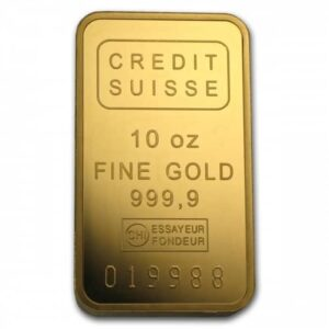 10 oz Pure Assorted Gold Bar