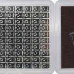 100 g (100 x 1g) Valcambi Silver CombiBar Case