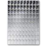 100 g (100 x 1g) Valcambi Silver CombiBar Front