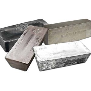 1000 oz Assorted Silver Bars