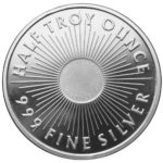 1_2 oz Sunshine Mint Silver Round Back