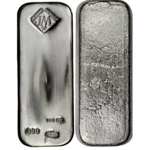 Assorted 100 oz Silver Bars