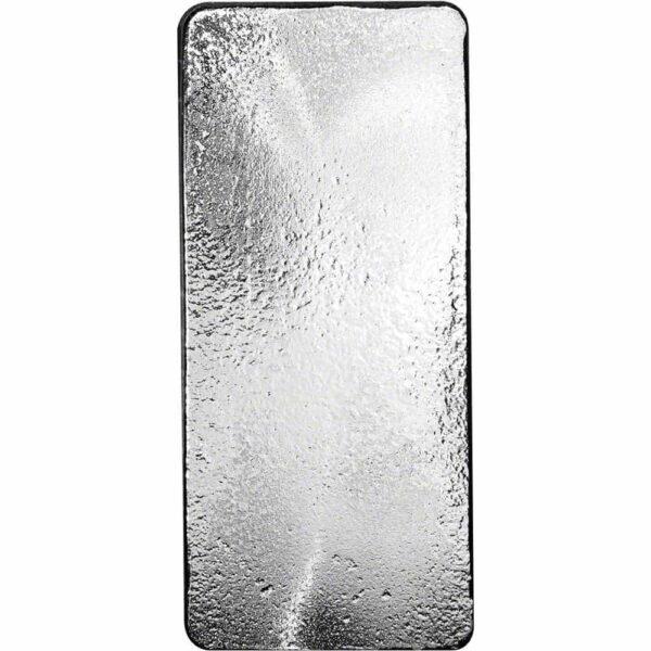 RCM 100 oz Silver Bar back