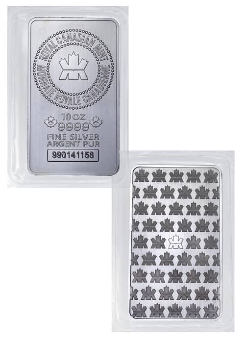 RCM 10 oz Silver Bar