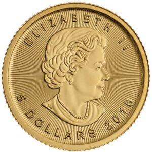 Royal Canadian Mint 1/10 oz Gold Maple Leaf Coin