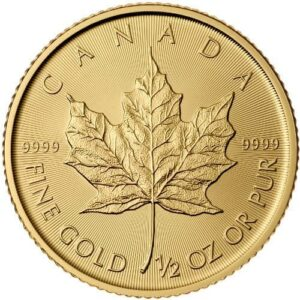 Royal Canadian Mint 1/2 oz Gold Maple Leaf Coin