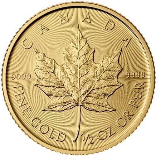 Royal Canadian Mint 1/2 oz Gold Maple Leaf Coin