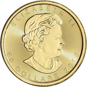 Royal Canadian Mint 1 oz Gold Maple Leaf Coin (Random Date)