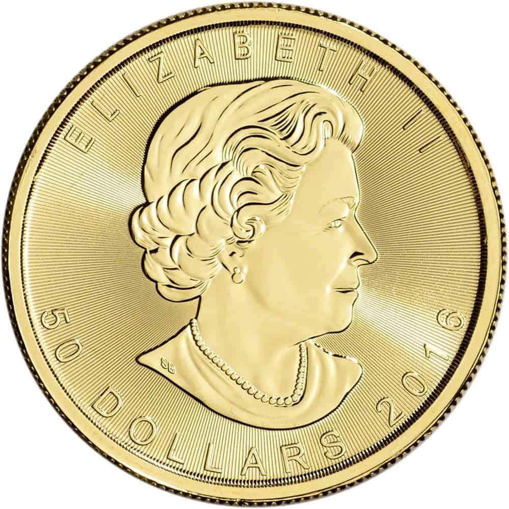 Royal Canadian Mint 1 Oz Gold Maple Leaf Coin