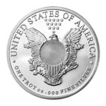 Sunshine Mint 1 oz Liberty Silver Rounds Back