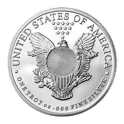 Sunshine Mint 1 oz Liberty Silver Rounds Back