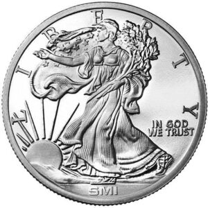 Sunshine Mint 1 oz Liberty Silver Rounds Front