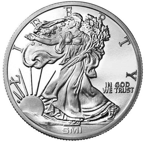 Sunshine Mint 1 oz Liberty Silver Rounds Front