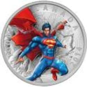 1 oz 2014 Superman™ Comic Book Covers: Superman™ Annual #1 Silver Coin