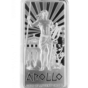 2 oz 2015 Gods of Ancient Greece | Apollo Silver Proof Coin