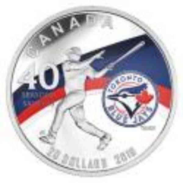blue jays silver coin