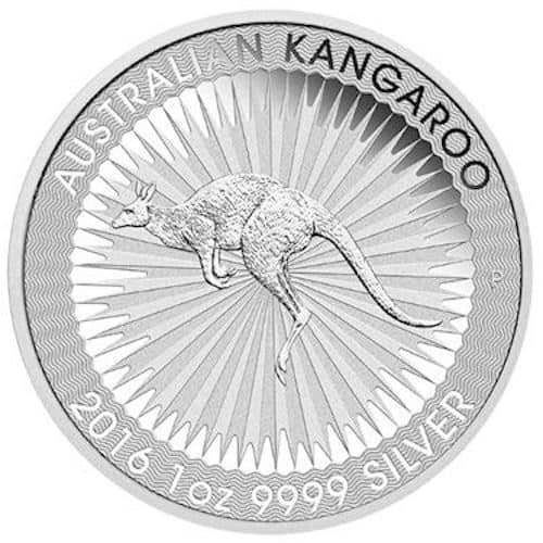 Australian Silver Round Front
