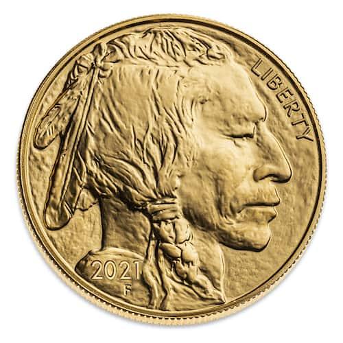 Buffalo 1 oz gold coin front