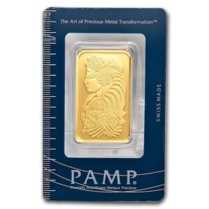 Assorted 1 oz Gold Bars