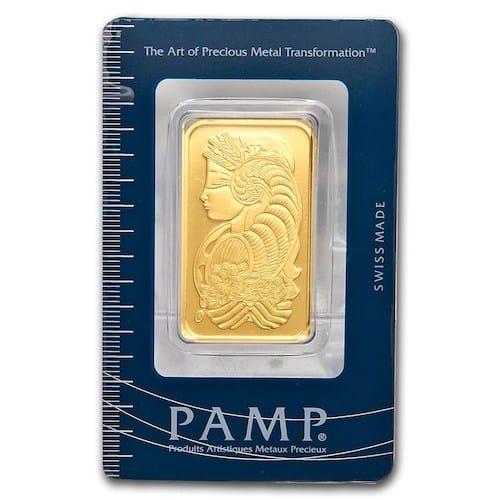 PAMP 1 oz Gold Bar