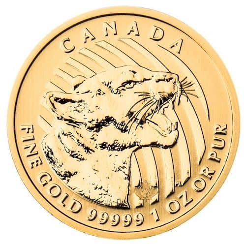 RCM 1 oz Cougar Gold Coin