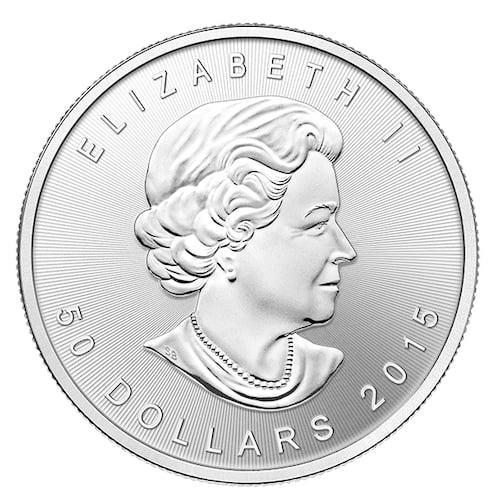 RCM 1 oz palladium coin back