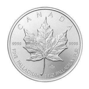 Royal Canadian Mint 1 oz Palladium Maple Leaf Coin