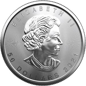 Royal Canadian Mint 1 oz Platinum Maple Leaf Coin