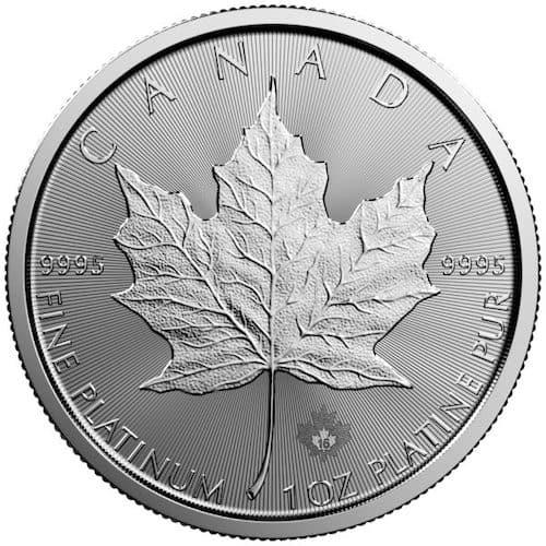 RCM 1 oz platinum coin front