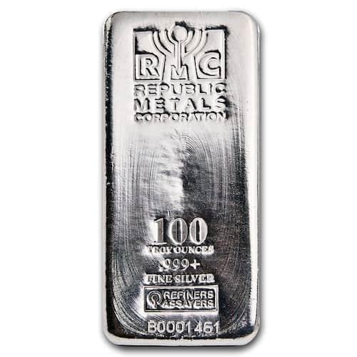 RMC silver kilo bar