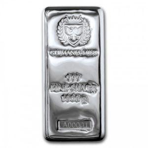 Assorted 1 Kilo Silver Bars