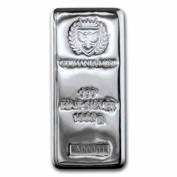 Germania 1 kilo silver bar