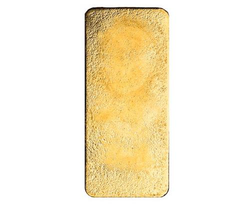 Suisse 1 kilo gold bar back