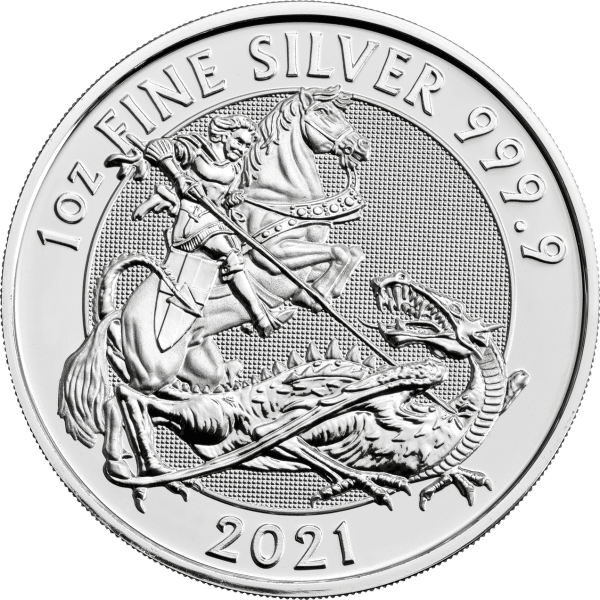 2021 Valiant Silver Coin Front