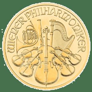 Philharmonic 1/10 oz Gold Coin