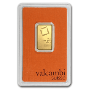 Assorted 10 gram Gold Bar