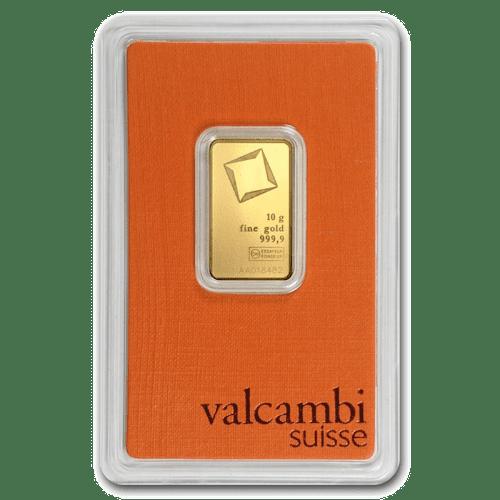valcambi 10g gold bar