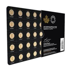 2021 Royal Canadian Mint Gold Maplegram Pack (25 gram Pack)