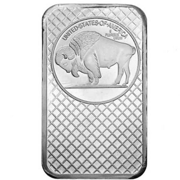 Buffalo 5 oz Silver Bar