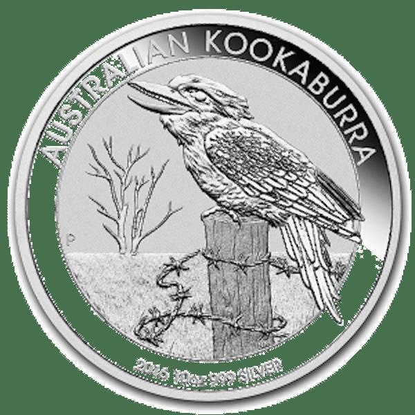 Kookaburra 10 oz Silver Coin