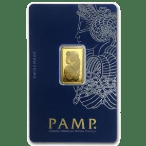 Assorted 5 gram Gold Bars