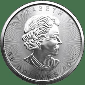 2021 Royal Canadian Mint 1 oz Platinum Coin