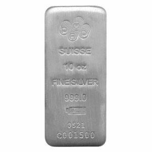PAMP 10 oz Silver Bar