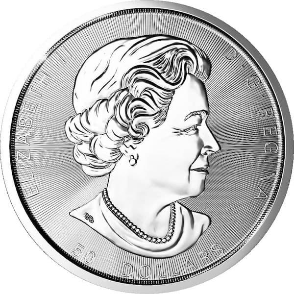 SML 10oz Silver Coin Back