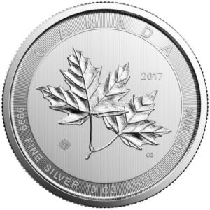 2021 Canadian Silver Magnificent 10 oz Maple Leaf Coin