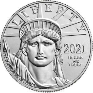 2021 Platinum Eagle 1 oz Platinum Coin
