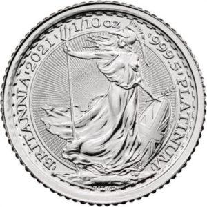 English Britannia 10 oz Silver Coin