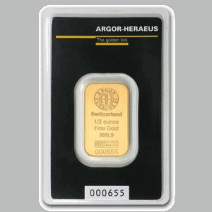 Assorted 1/2 oz Gold Bar