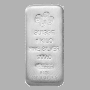 PAMP 1 Kilo Silver Bar